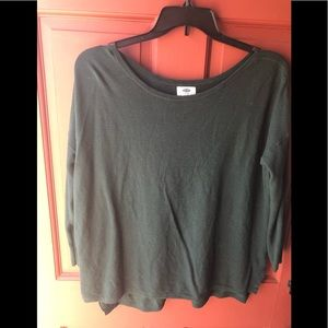 Old navy size XL pullover hunter green sweater